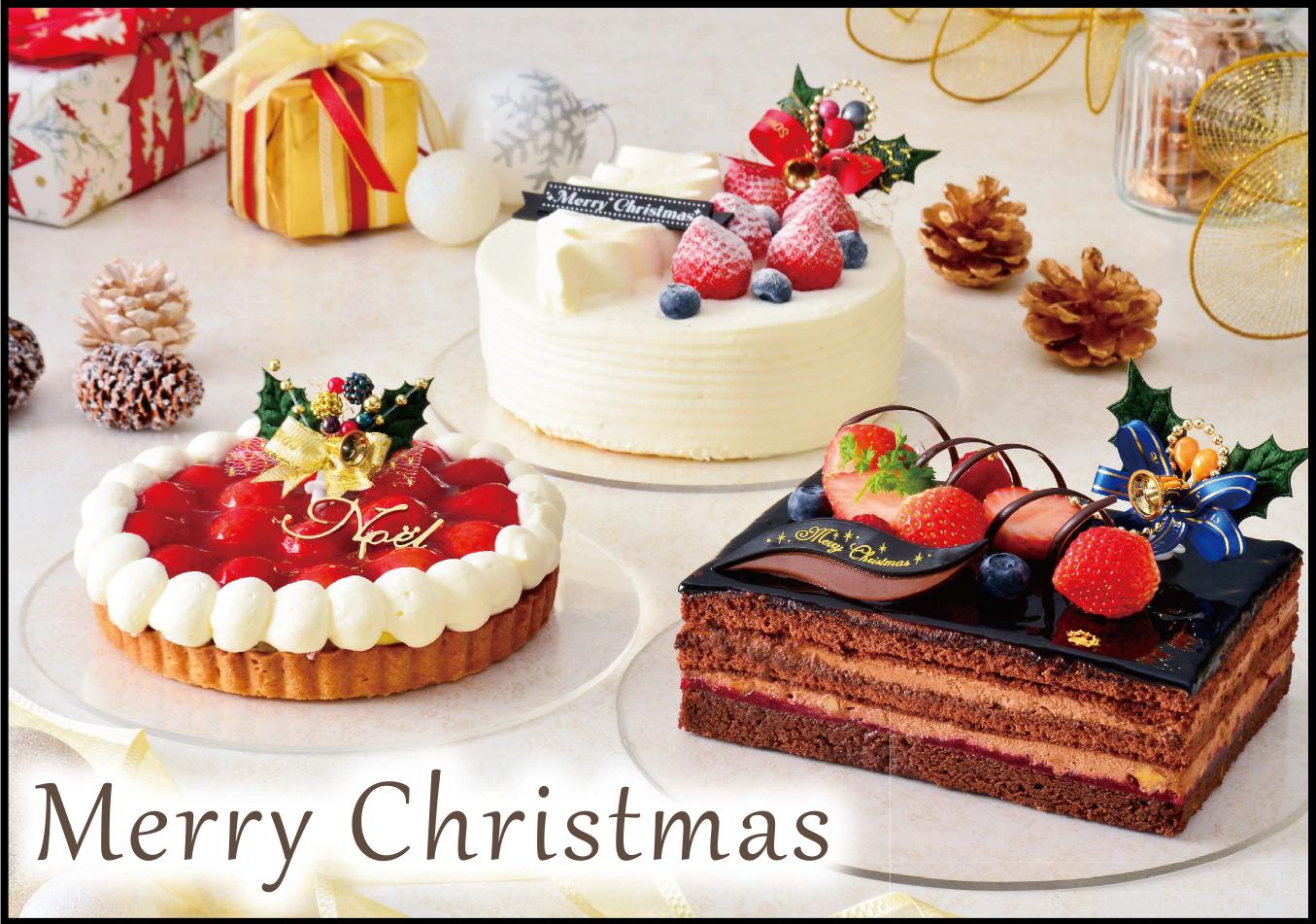 クリスマスケーキ&オードブル予約受付中です
